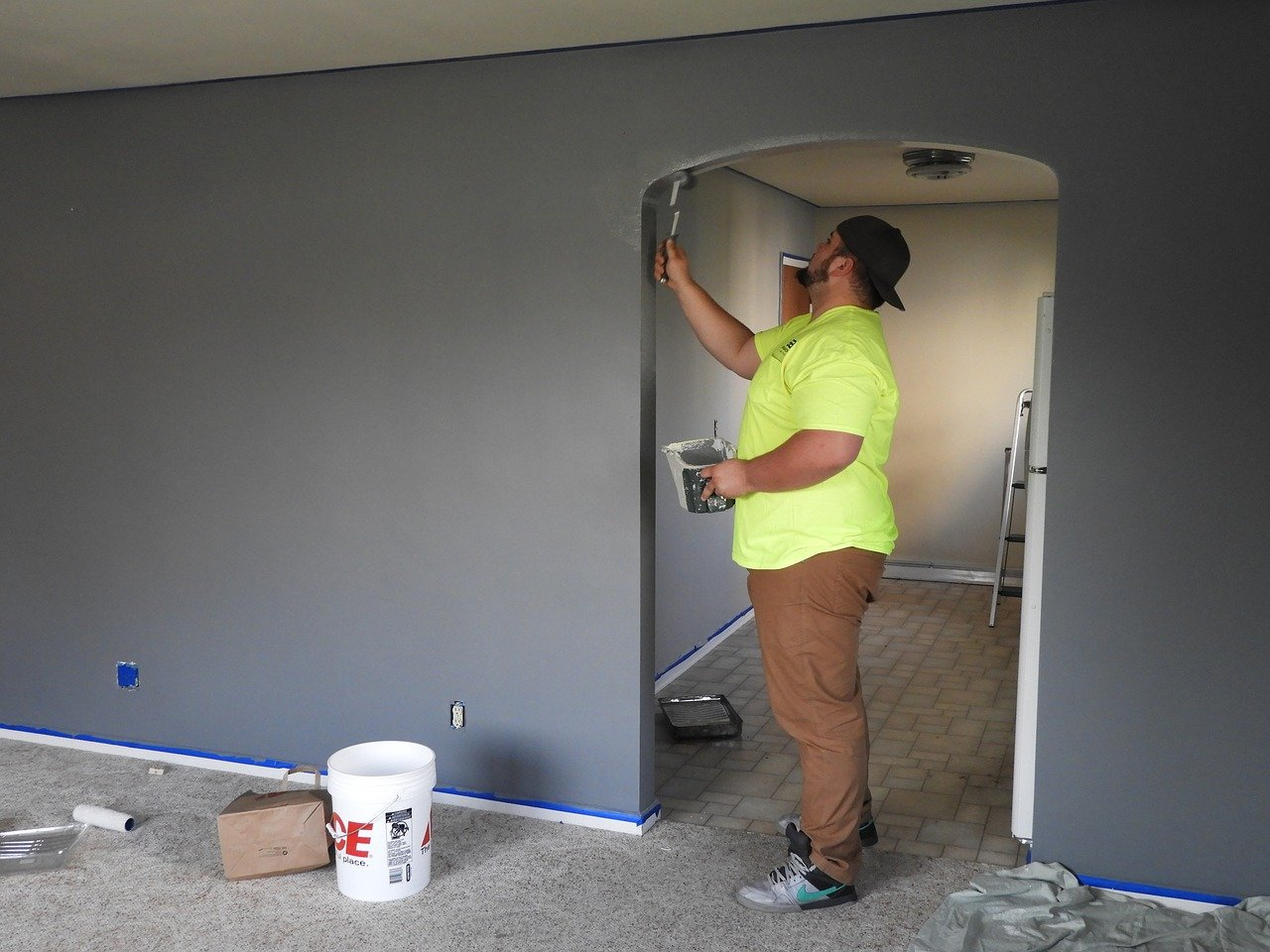 Fresh Paint Attracts Well-Qualified Residents